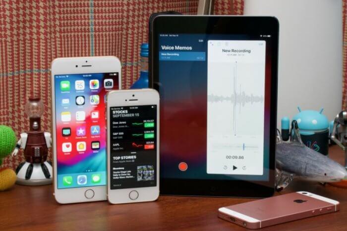 iPhone 5s, iPhone 6 sebesség teszt iOS 12