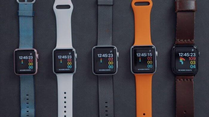 Apple Watch sebesség teszt