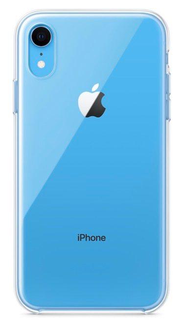 iPhone XR átlátszó szilikon tok