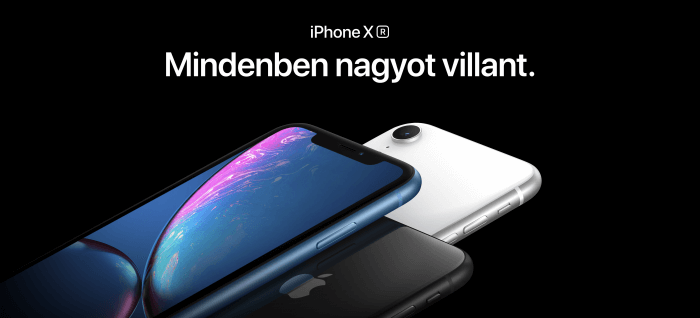 iPhone XR videók