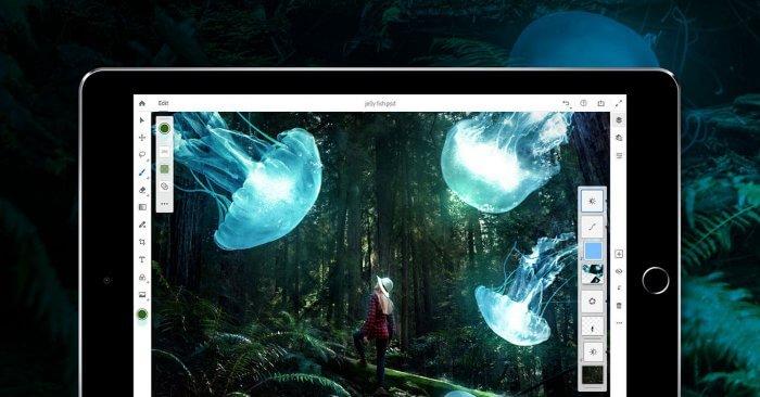 Adobe Photoshop iPaden borítókép