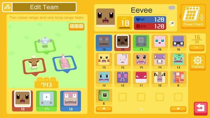 Pokémon Quest képernyőfotó
