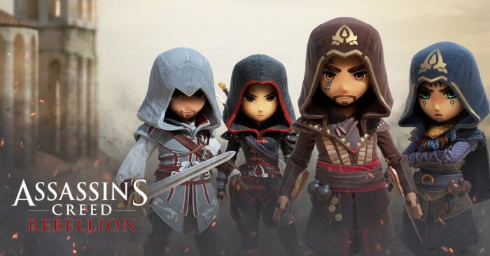 Assassin's Creed Rebellion borítókép