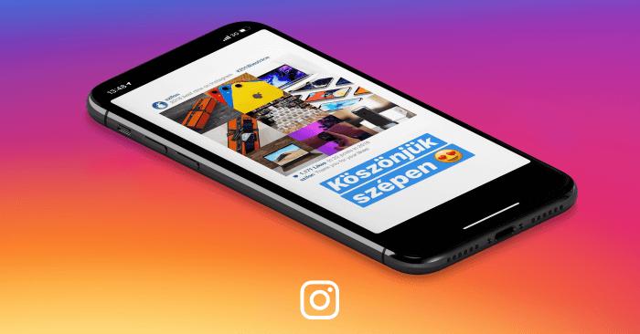 Instagram Top 9 borítókép