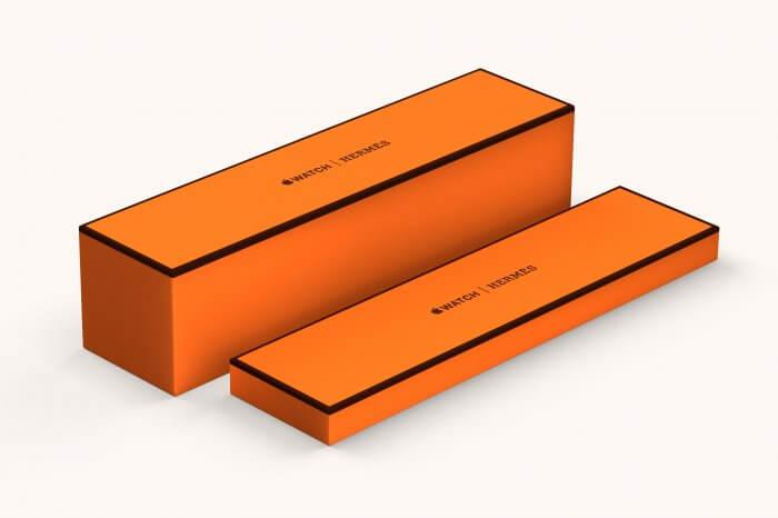Hermès Apple Watch csomagolás
