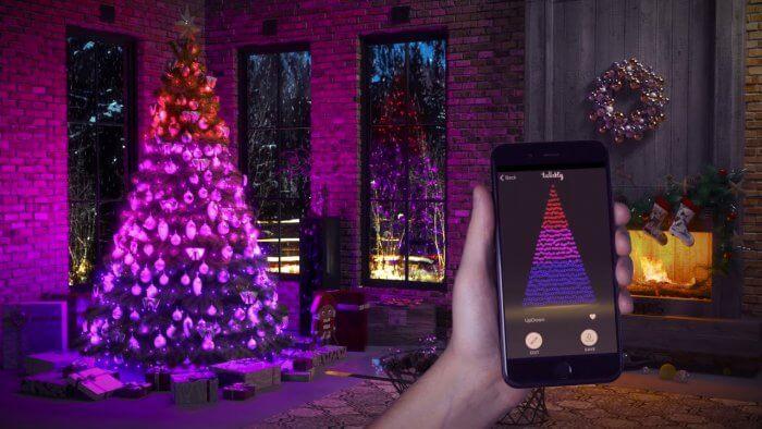 twinkly okos karácsonyfa égősor