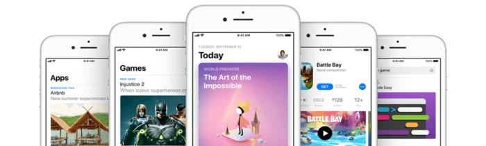 App Store alkalmazás 150MB