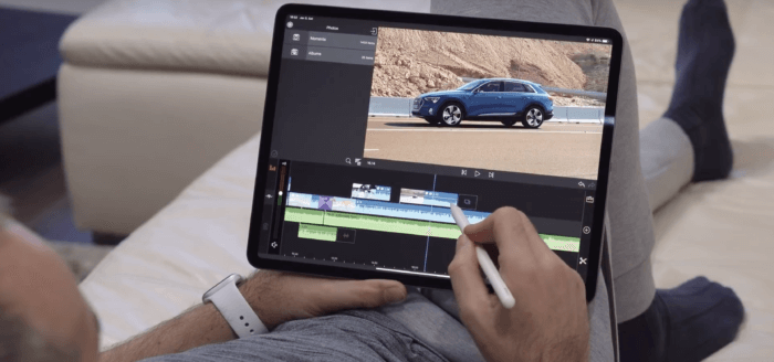 iPad Pro teszt, handras
