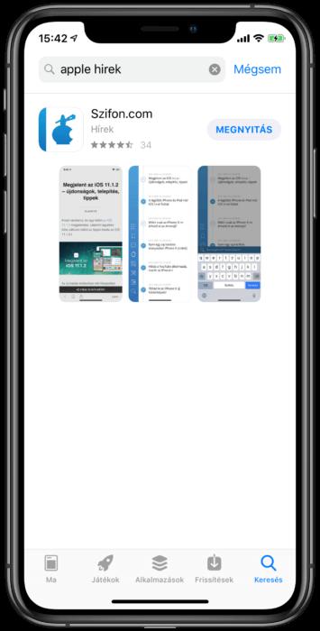 Szifon.com Apple hírek