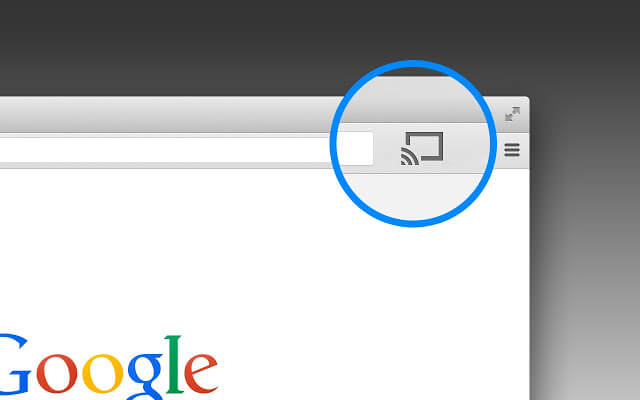 chromecast ikon