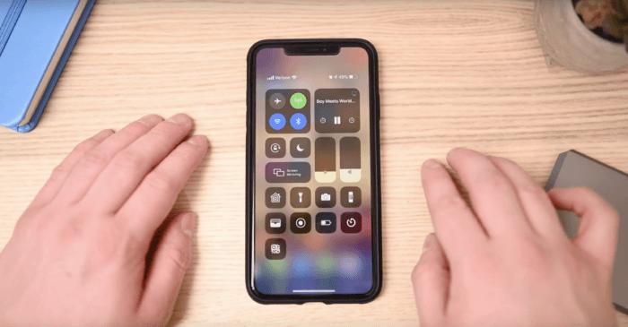 iOS 12.2 videó