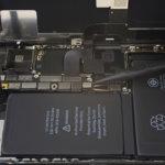 iPhone X akkumulátor