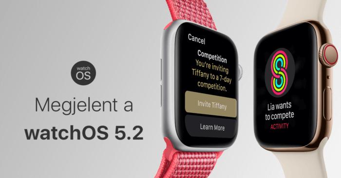 adf5adab70be Megjelent a watchOS 5.2 – EKG Magyarországon is! - Szifon.com