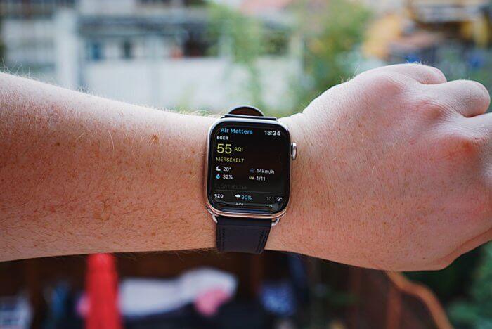 Air Matters – légszennyezettség és allergia adatok Apple Watch-on