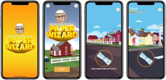 Warren Buffett's Paper Wizard - saját játékkal állt elő az Apple