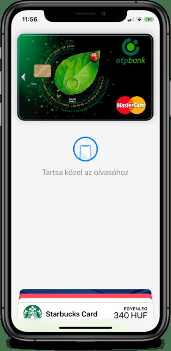 Apple Wallet alkalmazás