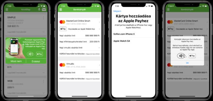 Apple Pay Magyarország OTP