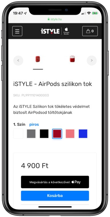 Apple Pay ISTYLE
