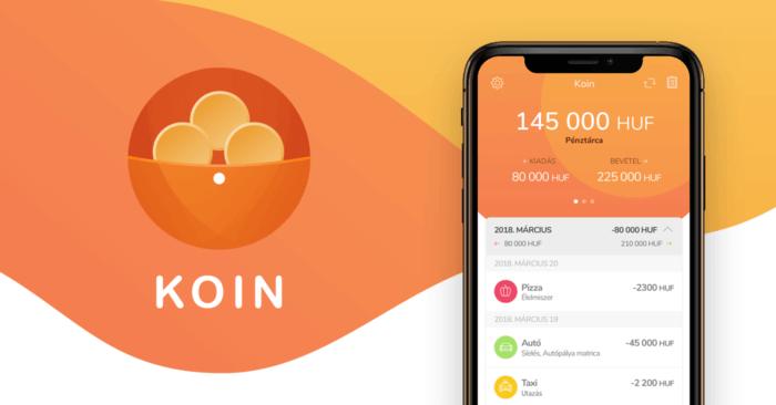Koin – magyar fejlesztésű alkalmazás, amivel élvezet a pénzügyeink  nyilvántartása - Szifon.com