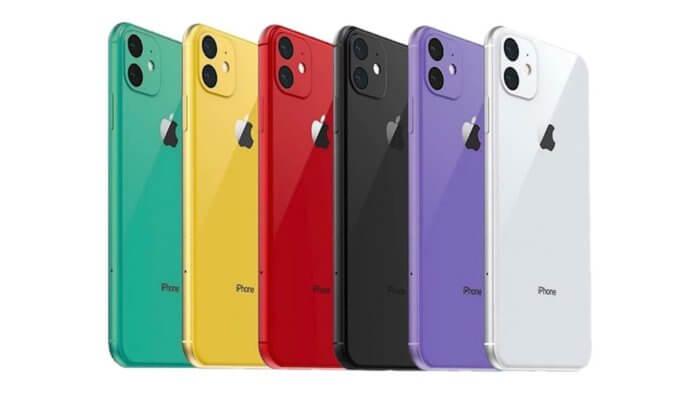 színes iPhone 11