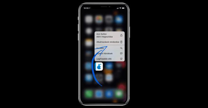 Alkalmazásokat törlés, mozgatása az iOS 13-on
