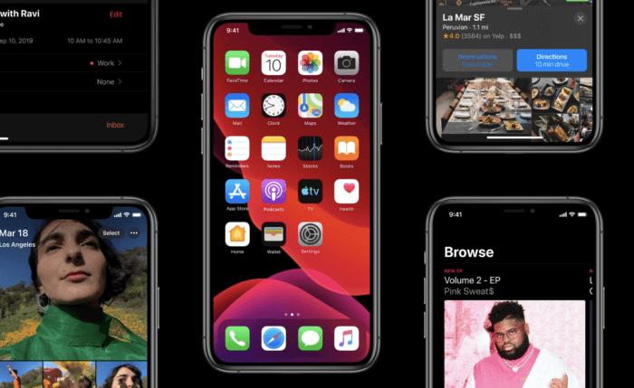 Megjelent az iOS 13 – telepítés, tippek terükkök, dark mode