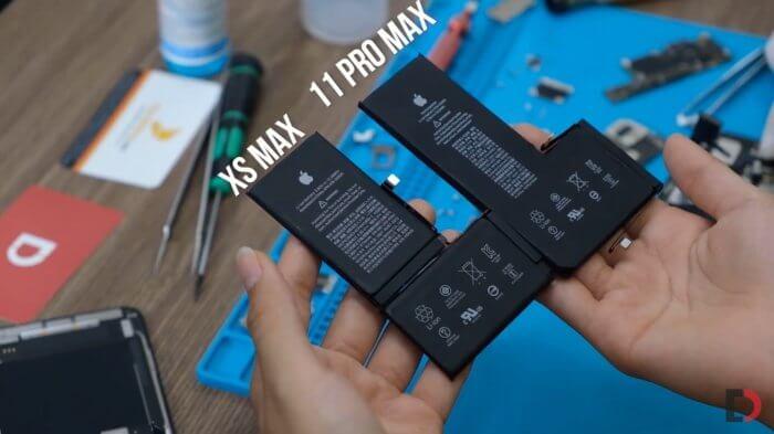 iPhone 11 Pro max akkumulátor