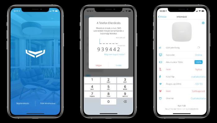 Ajax Apple iPhone alkalmazás