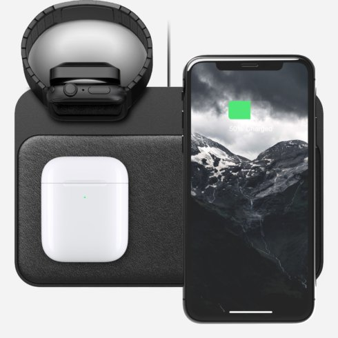 Nomad Apple Watch Base Station éjjeli szekrény dokkoló