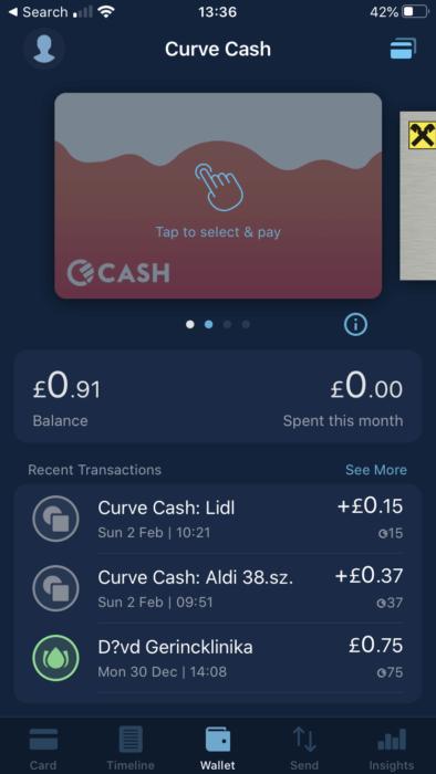 Curve Cash
