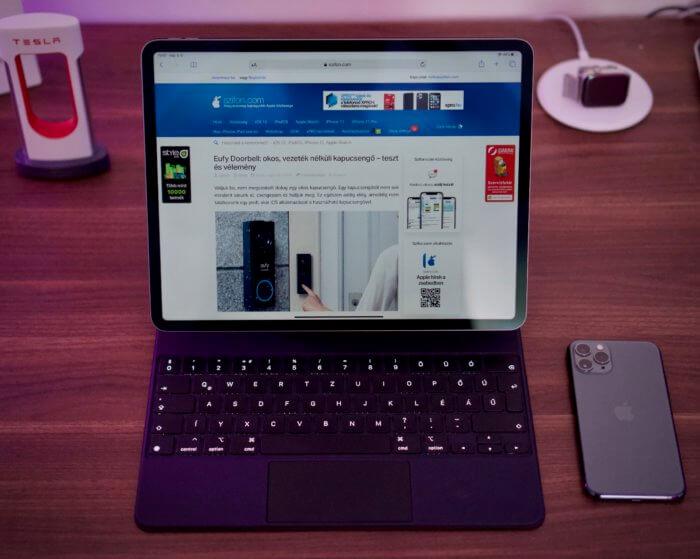 Kezünkben az iPad Pro és Magic Keyboard – teszt és vélemény