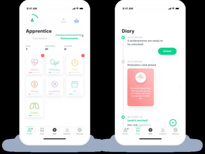 android alkalmazás segít leszokni a dohányzásról