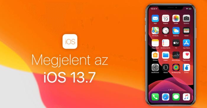 Megjelent az iOS 13.7