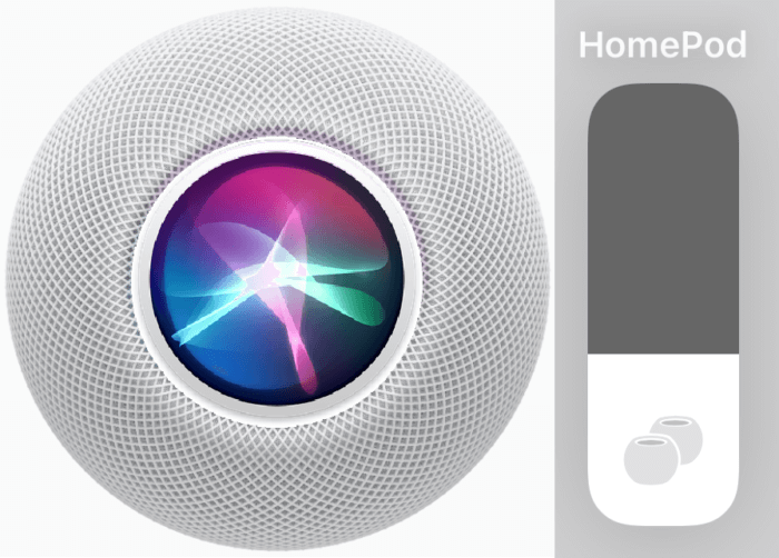Siri hangereje HomePod minin