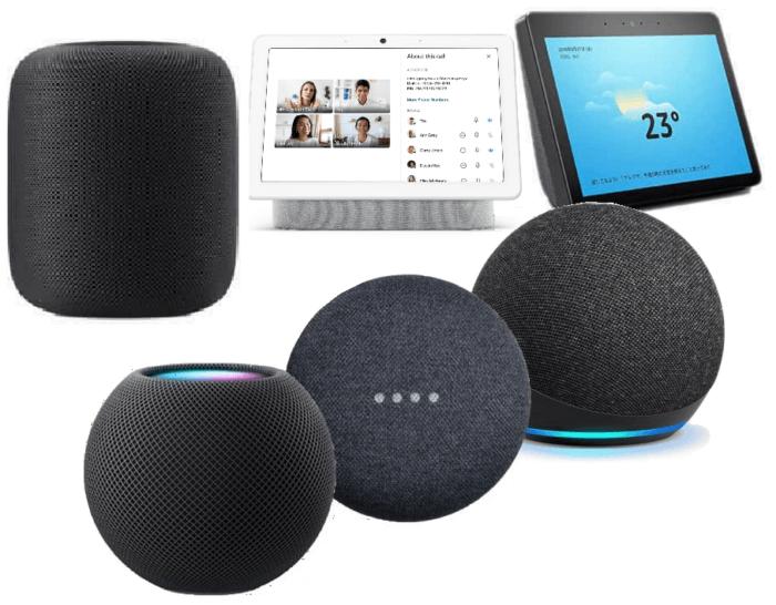 Home Hubs - apple, google, amazon