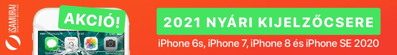 iSamurai iPhone szerviz akció
